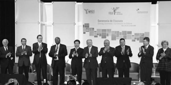 Premier Sommet Mondial de CGLU à Mexico 2010