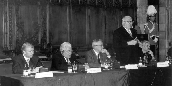 Congreso de Metropolis y IULA en Barcelona 1999