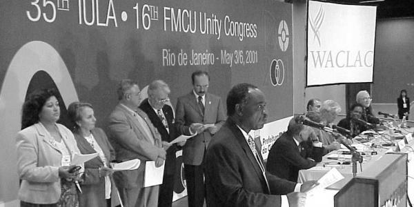Congrès de l'IULA et de la FMCU à Rio de Janeiro 2001