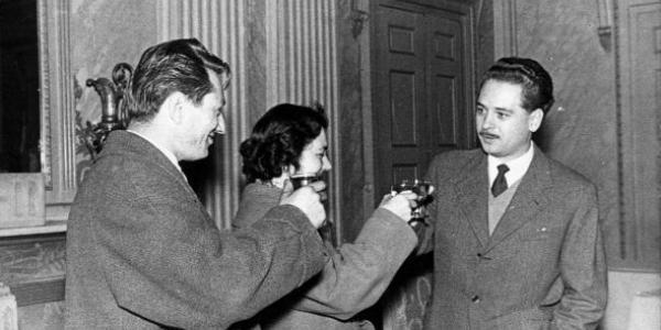 Giulio Dolchi, Maire d'Aoste lors du Congrès FMVJ 1960