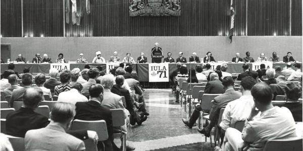 Congreso de la unión de los poderes locales en 1971